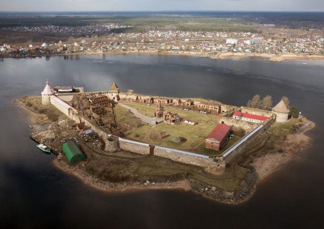 """""""小核桃""""堡垒(圣彼得堡郊区)"""