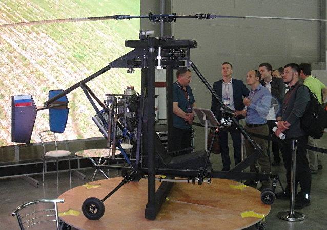 """俄罗斯推出超轻直升机""""米克龙""""——航空机械最小化的样板机"""