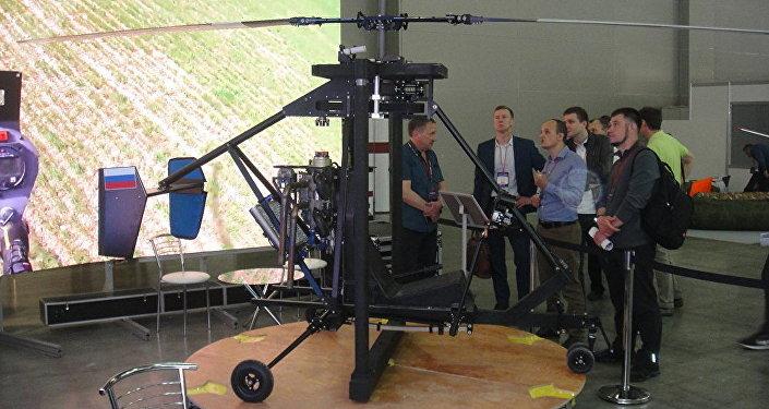 俄羅斯推出超輕直升機「米克龍」——航空機械最小化的樣板機