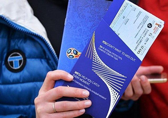 莫斯科为2018年世界杯球迷提供免费交通