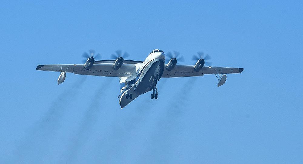 """AG600""""鲲龙""""水陆两栖飞机"""