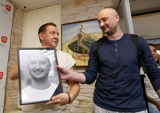 「保護記者委員會」呼籲基輔對匆忙就巴布琴科事件進行指責作出解釋