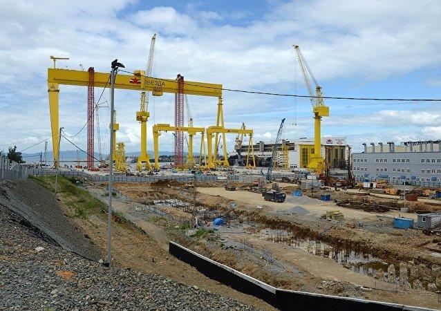 俄造船厂开始为联合船运公司建造阿芙拉型油轮