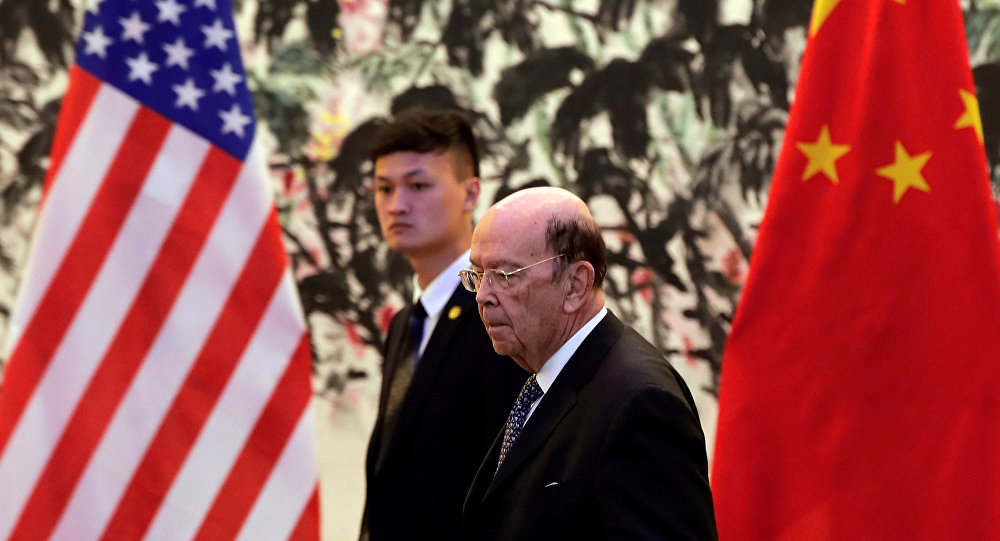 中國對美欲挑起全面貿易戰給予強力回應