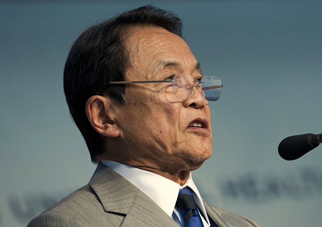 媒體:日本財政大臣因財務省醜聞退還一年薪水