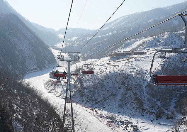 马息岭滑雪场