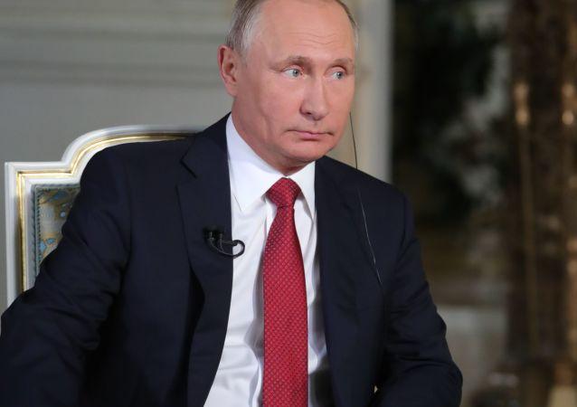 普京:莫斯科无意离间欧盟 反而望其统一繁荣