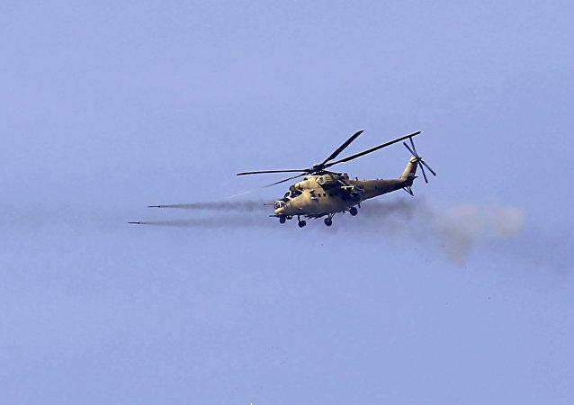 聲明:伊拉克空軍摧毀敘境內一處IS指揮所