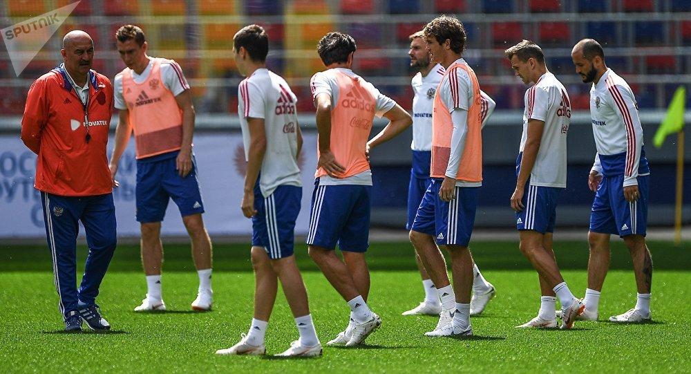 俄羅斯足球隊運動員