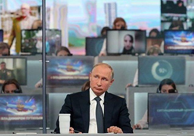 普京:文明終結的威脅將阻止世界大戰