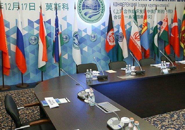 上海合作组织成员国国旗