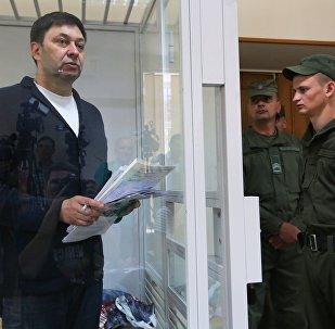 「俄新社烏克蘭」網站負責人維辛斯基