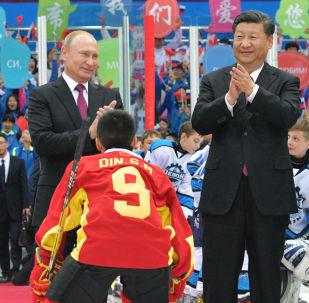 俄罗斯总统弗拉基米尔•普京访华的高光时刻