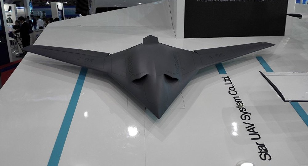 """俄媒:中国新型无人机将成美国人的""""噩梦"""""""