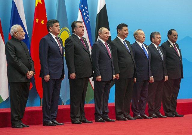 外媒:上合青岛峰会展示的是团结