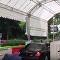 金正恩的车队在新加坡被人拍到