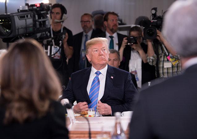 欧洲议会将特朗普在G7峰会上的行为与天气变化相提并论