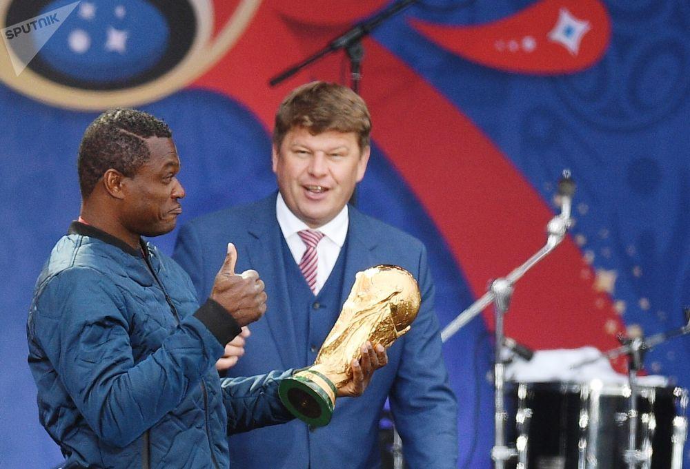 2018世界杯球迷节在莫斯科启幕