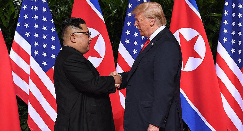特朗普:與朝鮮簽署「詳細」文件