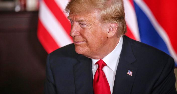 特朗普:美国愿意很快与朝鲜建立外交关系