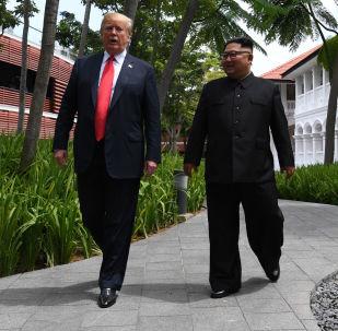 美朝领导人会晤
