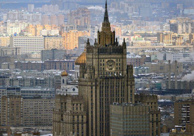 俄外交部谴责叙利亚南部恐怖袭击事件