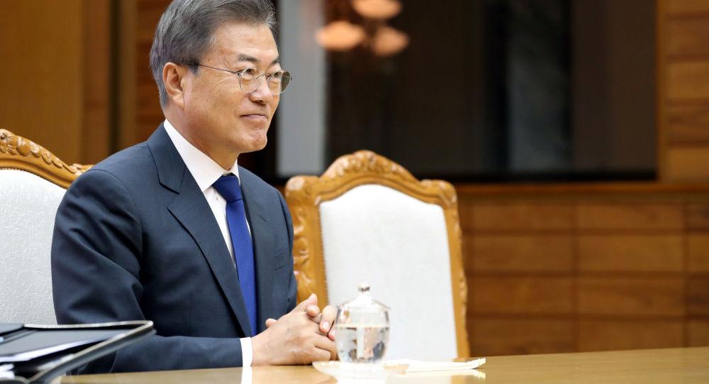 韩国总统感谢俄罗斯支持朝鲜半岛无核化