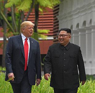 金正恩与特朗普