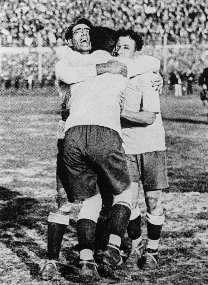 历届世界杯冠军队