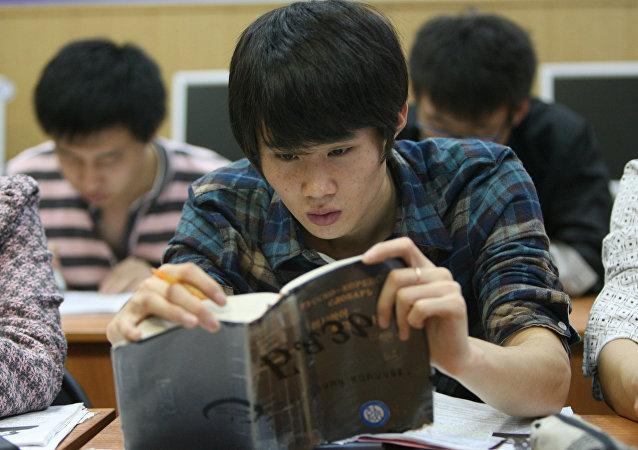 中國留俄學生人數比2012年翻一番