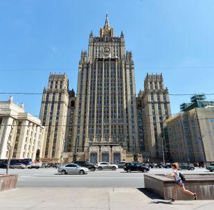 """俄外交部认为美制裁""""Sovfracht""""集团实际上就是支持恐怖分子"""