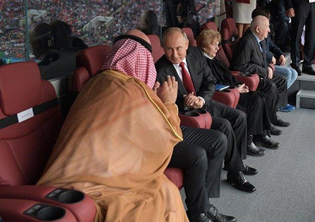 俄总统新闻秘书解秘普京手势:体育运动中无需为己方胜利而致歉