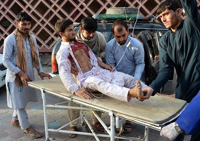 媒体:阿富汗爆炸事件死亡人数升至20人