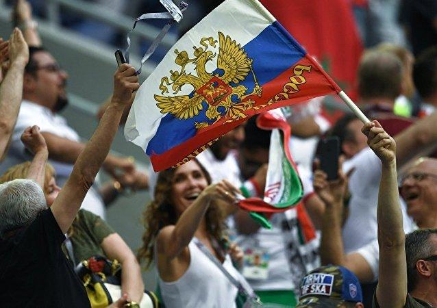 民調:俄羅斯隊贏下首戰後俄民眾對世界杯的熱情上漲