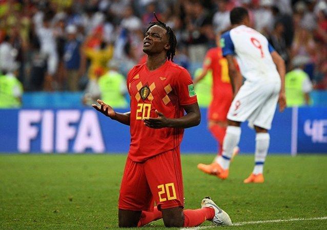 比利时国家队在2018年世界杯足球赛上击败了巴拿马队