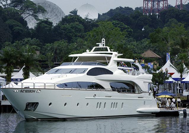 豪华游艇,新加坡(资料图片)