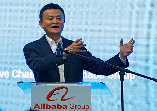 阿里巴巴创始人马云成为亚洲首富
