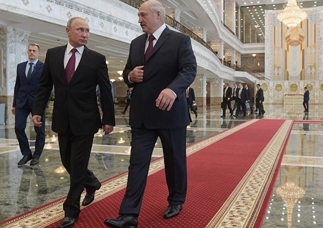 普京谈其与白俄罗斯总统的面对面会谈