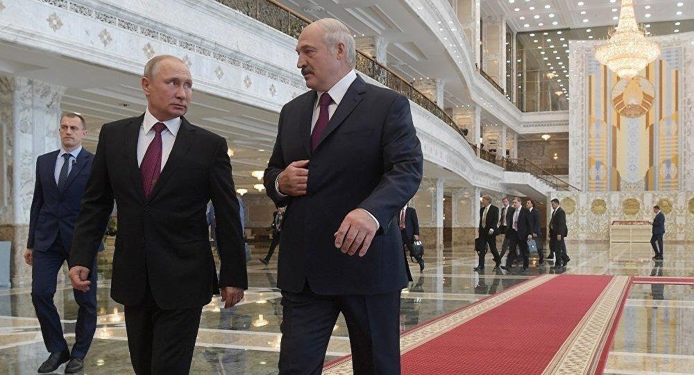 普京:已与白俄总统就包括国际合作在内的所有问题进行讨论