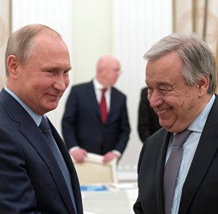 联合国秘书长称俄罗斯是联合国主要成员国之一