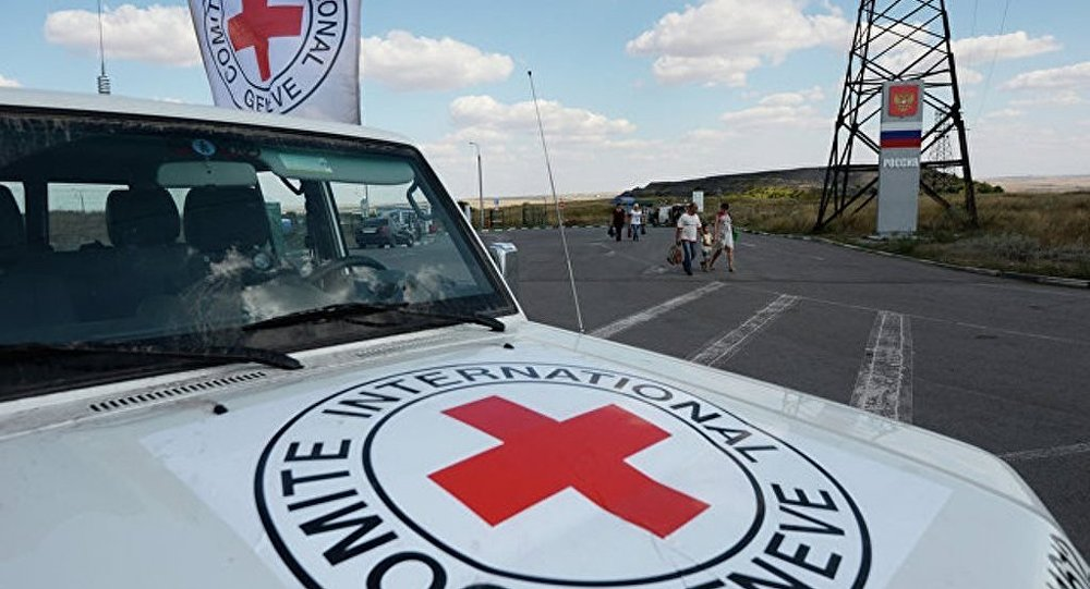 红十字会向顿巴斯运送逾150吨人道主义物质