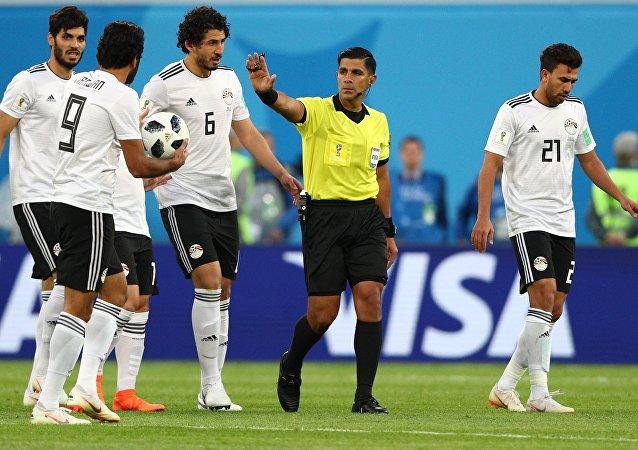 埃及足協將投訴埃及隊與俄羅斯隊小組賽裁判組