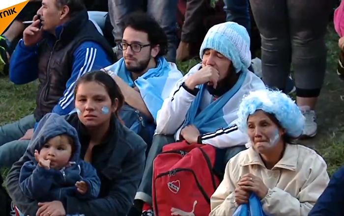 阿根廷遭遇60年来世界杯小组赛首次惨败