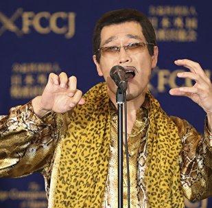 日本洗腦歌《Pen-Pineapple-Apple-Pen》讓日本喜劇演員剛出生的女兒安靜了下來