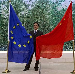 """中国对欧盟""""睁开双眼""""应对与美贸易战"""