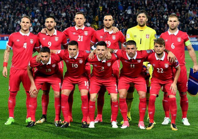 塞尔维亚足球运动员