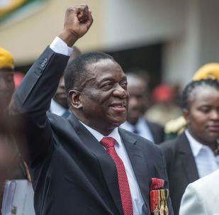 津巴布韦总统埃默森∙姆南加古瓦