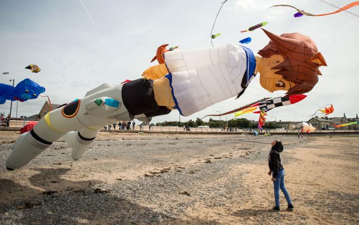 英国风筝节