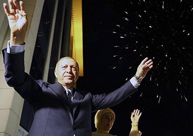 中國外交部:中方祝賀埃爾多安連任土耳其總統