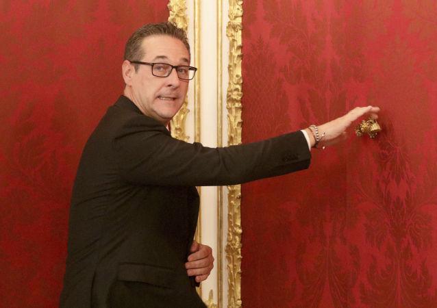 奥地利副总理海因茨-克里斯蒂安·斯特拉赫